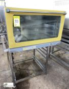 Unox XF190 Electric Oven, 400volt, 6.3kw, with stainless steel stand (LOCATION: Croxton) / (please