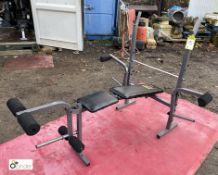Weider 224 Weight Lifting Bench