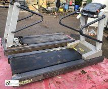 Pair Technogym XTPRO Run 600 Treadmills (spares or repairs)