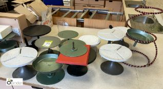 Approximately 14 various Cake Decorating Stands (location: Level 2, B276 Room)