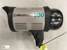 Elinchrom 500 Flash Light (location: Level 1, Photography Room)