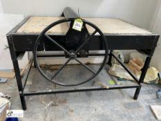 Roderveld manual Slab Roller, 840mm wide (location: Level 1, Joinery Workrooms)