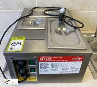 Pasta King Mini 3-pan Bain Marie/Pasta Cooker (location: Level 2, B276 Room)