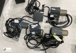 5 various Broncolor Primo Flash Lights (spares or repairs) (location: Level 1, Photography Room)