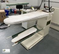 Casoli TLA81 Steam Ironing Table, serial number 25765 (location: Level 1, Joinery Workrooms)