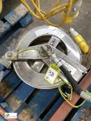 Stand mounted retractable Hose and Reel (please note this lot has a lift out fee of £5 plus vat)