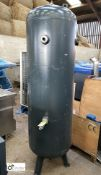 Vertical Air Receiving Tank, 500litres, 11bar, year 2015 (please note this lot has a lift out fee of