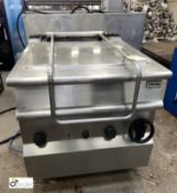 Electrolux stainless steel gas fired Brat Pan (please note this lot has a lift out fee of £10 plus
