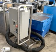 Blower Unit with stainless steel trolley and Telemecanique Altivar 58 adjustable speed drive (please