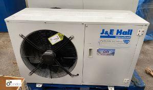 J & E Hall JEHS-0250-B2-M-3 Refrigeration Condenser Unit, 415volts, serial number 20601301-00292 (