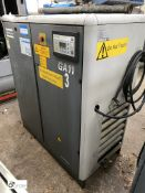 Atlas Copco GA11 D Packaged Air Compressor, 7.5bar, 415volts (please note this lot has a lift out