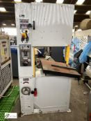 T-Jaw Machinery VBS-600 Vertical Bandsaw, 600mm throat, 400volts, with Blade Welder and Blade