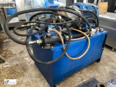 Hydraulic Power Pack, with 30kw motor (please note this lot has a lift out fee of £10 plus vat)