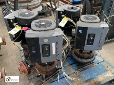 2 Grundfos MGE100+C2-FF215-01 Twin Pump Sets, to pallet (please note this lot has a lift out fee