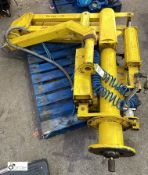 Dalmec pneumatic Lifting Arm (please note this lot has a lift out fee of £10 plus vat)