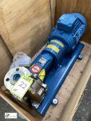 Sterling ZLND 032200 BB BJS B stainless steel Pump, with Weg 5.5kw motor, unused (please note this