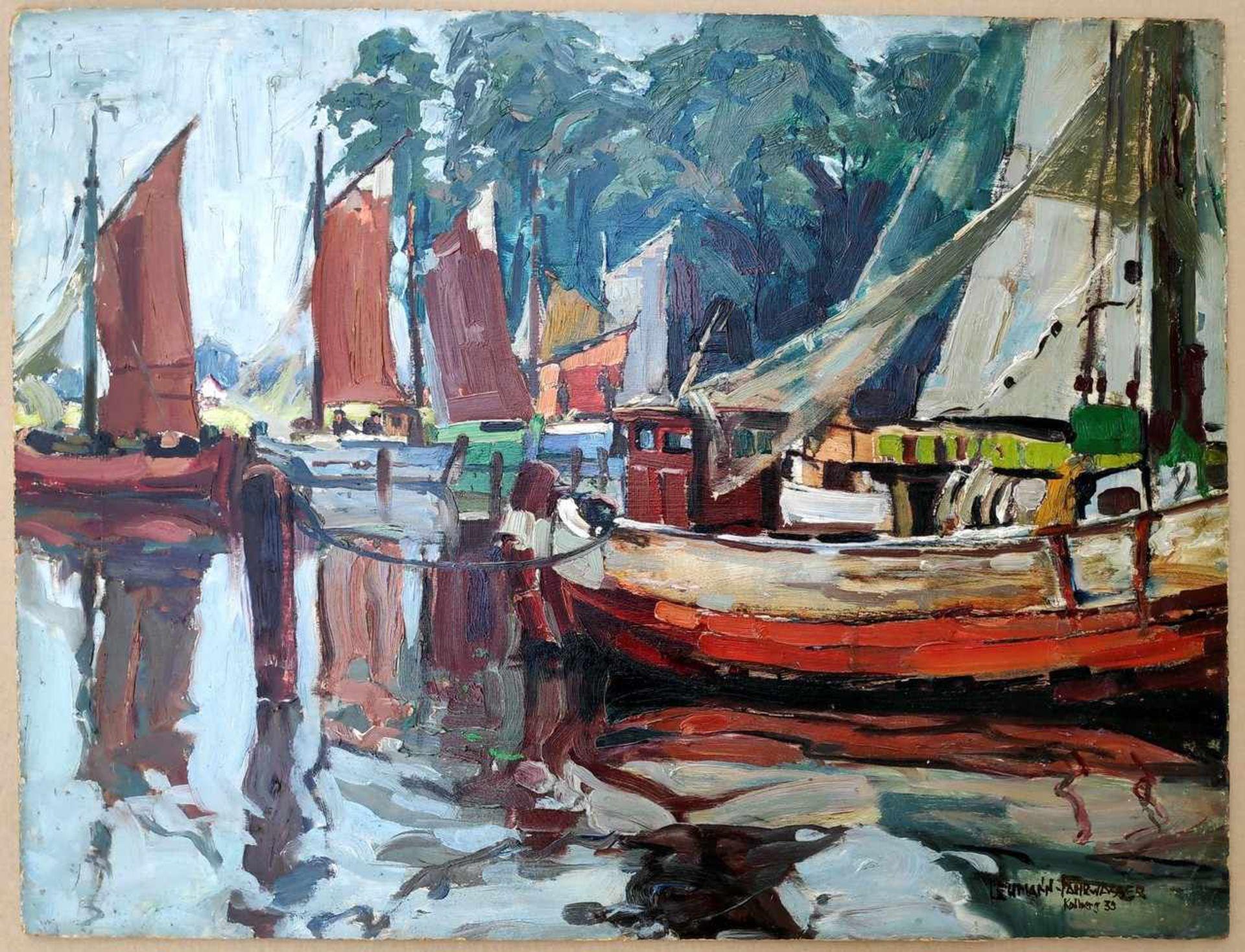 Lehmann-Fahrwasser, Georg (1887 Danzig - 1977 Berlin) - Bild 2 aus 8