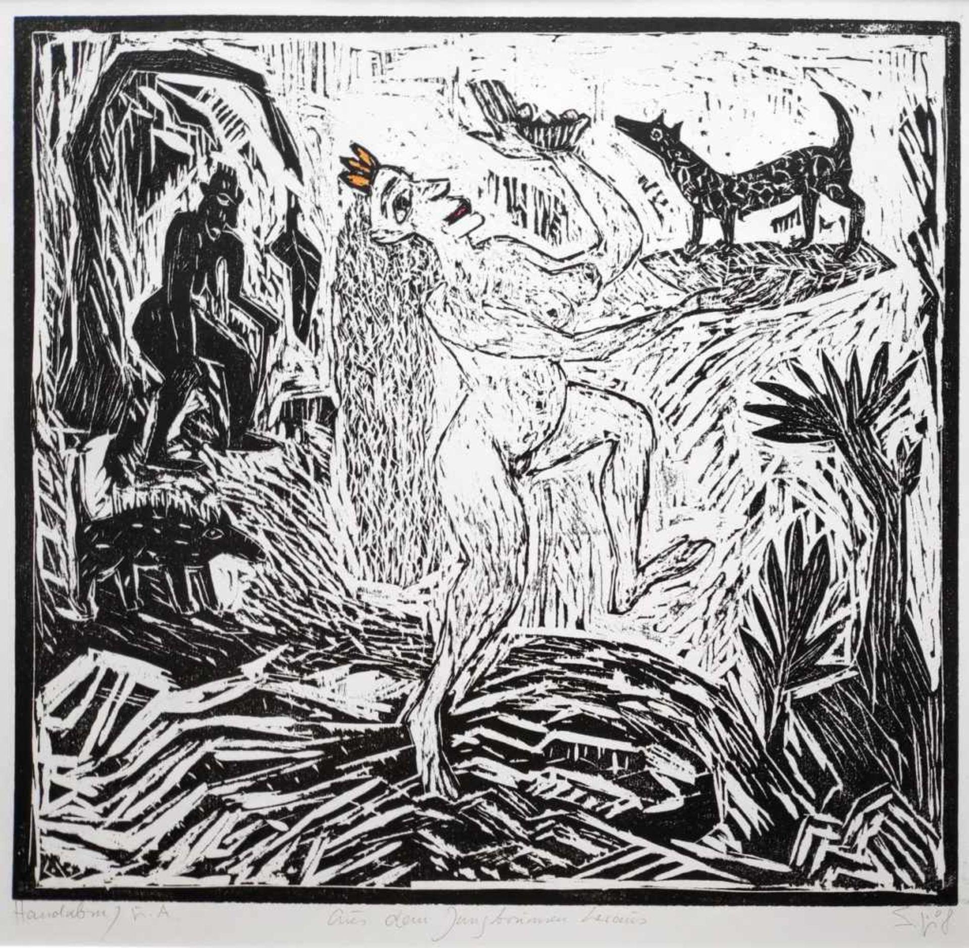 Leifer, Sybille (1943 Krakow, lebt in Sanz bei Greifswald)