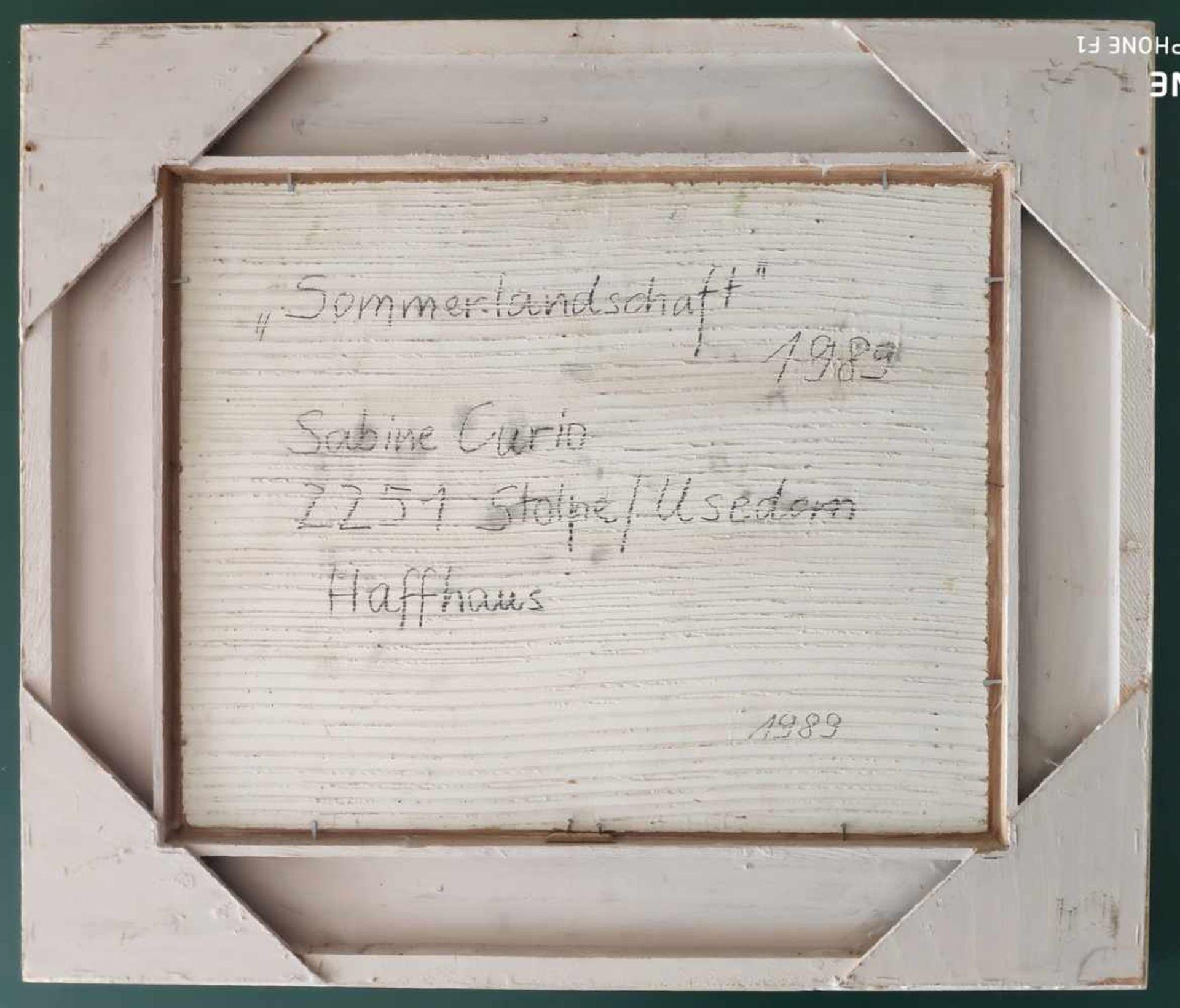 Curio, Sabine (1950 Ahlbeck, lebt in Stolpe auf Usedom) - Bild 5 aus 5