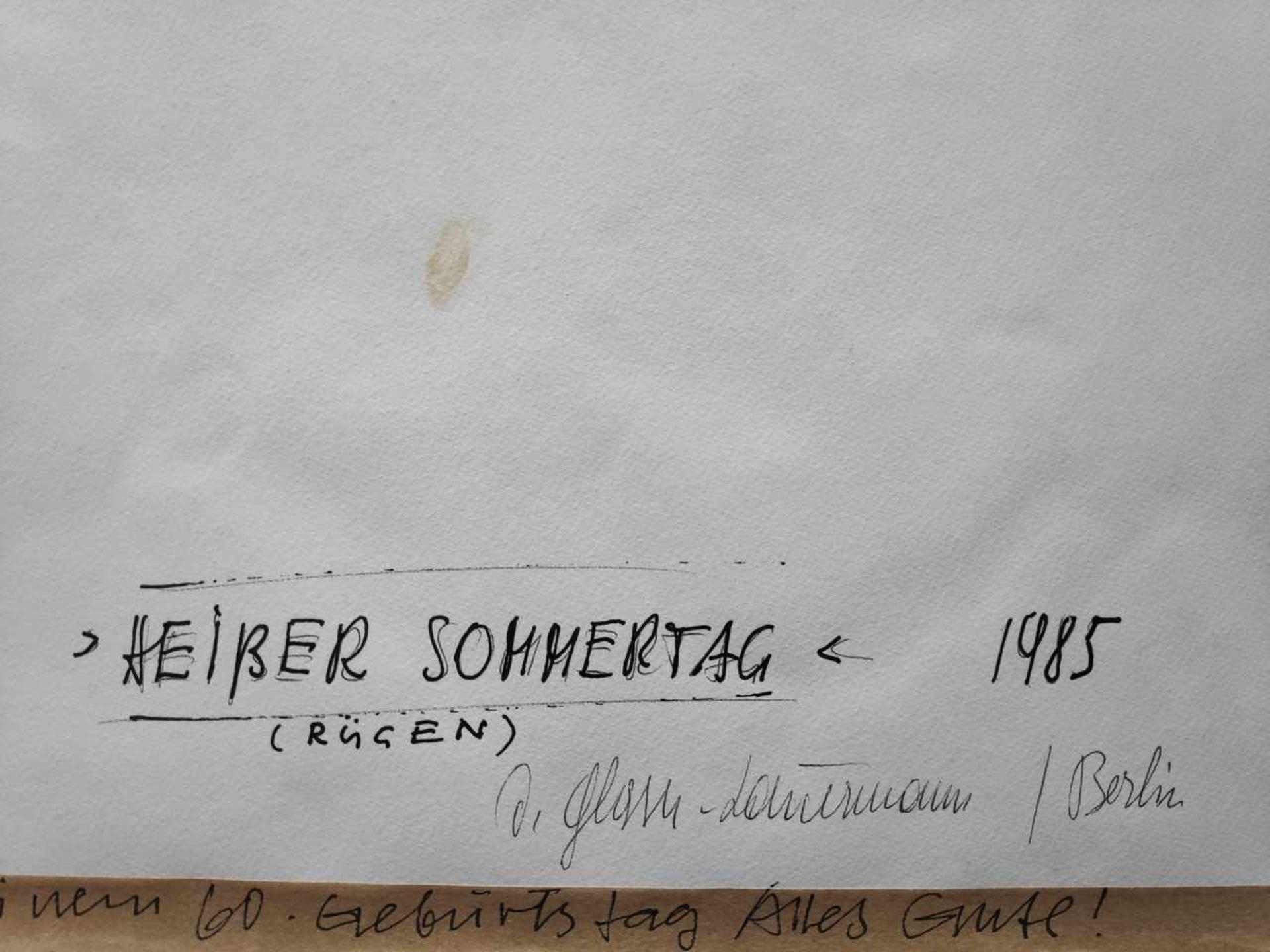 Glaser-Lauermann, Dagmar (1927 Sluknow - ? Berlin) - Bild 7 aus 9