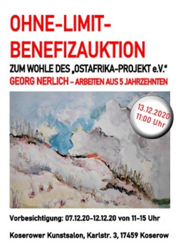 "Ohne-Limit-Benefizauktion zum Wohle des ""Ostafrika-Projekt e.V."