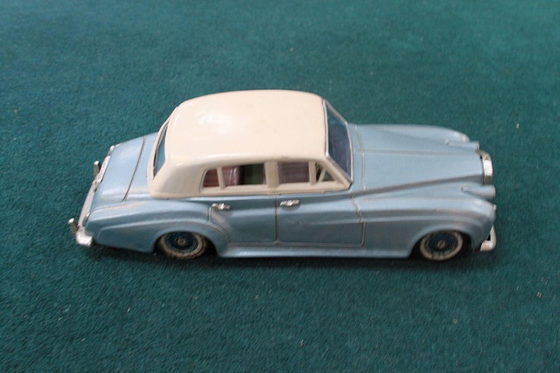 Lot 380 - Bandai (Japan) Tinplate Friction Drive Rolls Royce Silver Cloud Circa 1960's
