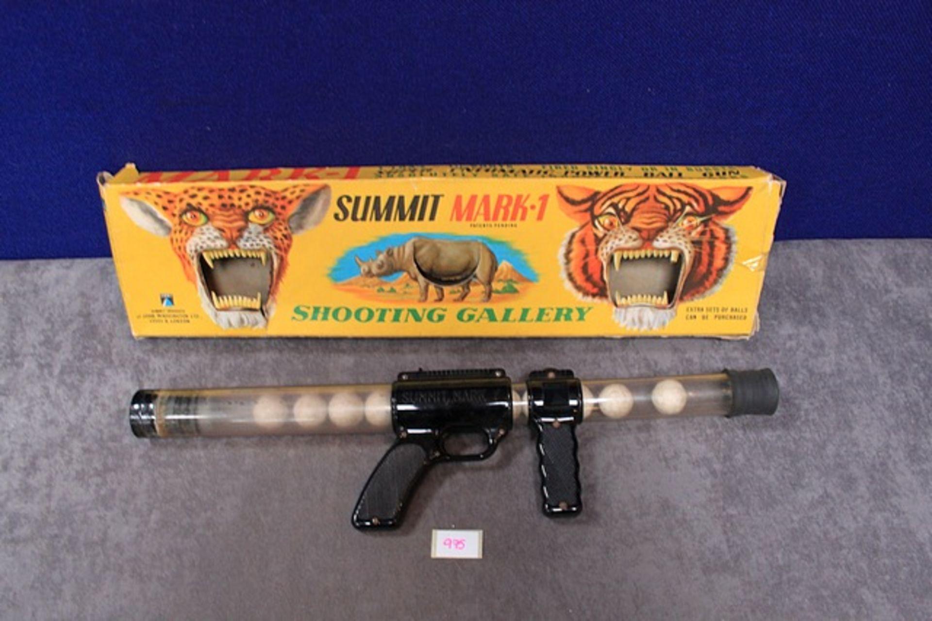 Lot 975 - Summit Products Of John Waddington Ltd Summit Mark 1 Shooting Gallery In Box