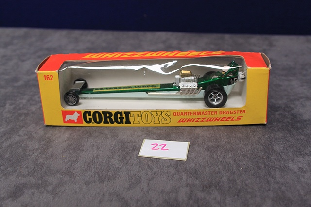 Lot 22 - Corgi Whizzwheels Diecast Number 162 Quartermaster Dragster With Crisp Box