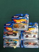 5x Hot Wheels Highway 35Final Run Diecast Vehicles - On Unopened Card, Comprising Of; #5/12 Twang