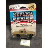 ERTL Replica Series Diecast #1917 Bonneville Police Car On Bubble Card