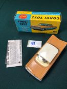 Mint Corgi Toys Diecast #248 Chevrolet Impala In Light Brown With Leaflet In A Excellent Box