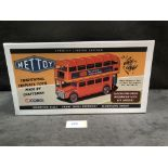 Mettoy Corgi Traditional Tinplate Toys Strictly Limited Edition Route Master Bus London Transport #