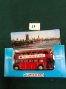 Lone Star Diecast Model Bus #1259See London By Busâwith Black Tyres In Box