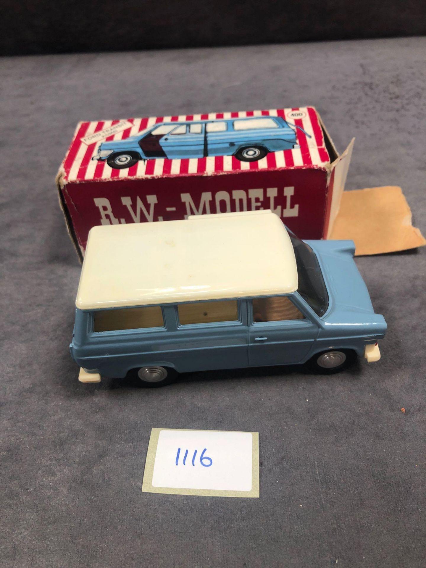 R.W.-Modell (Germany) #400 Ford Transit Kombi In Box