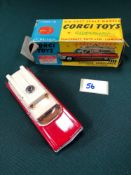 Excellent Corgi Toys Diecast #437 Superior Ambulance On A Cadillac Chassis And A Poor Box (No And