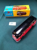 Near Mint Corgi Toys Diecast Model #1120 Midland Red Motorway Express Coach An Excellent Box