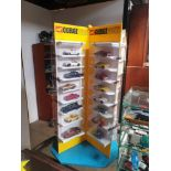 **WOW** Corgi Diecast Display Stand With 64 Individual Diecast Car Models -    356 VW US Personell