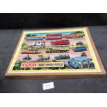 "The Victory ""Road Vehicle Puzzle"". To The 1960s Now, But Still Produced In Wood, Another Example"