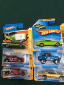 6x Hot Wheels HW Premier Diecast Vehicles - On Unopened Card, Comprising Of; #2/5072 Ford Gran