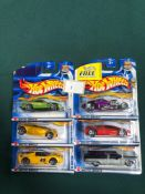 6x Hot Wheels Highway 35 Diecast Vehicles - On Unopened Card, Comprising Of; #7/42 1/4 Mile