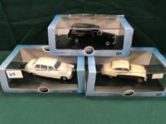 3x Oxford Diecast Models Scale 1/43 All In Display Boxes, Comprising Of; #DS002 Daimler DS420
