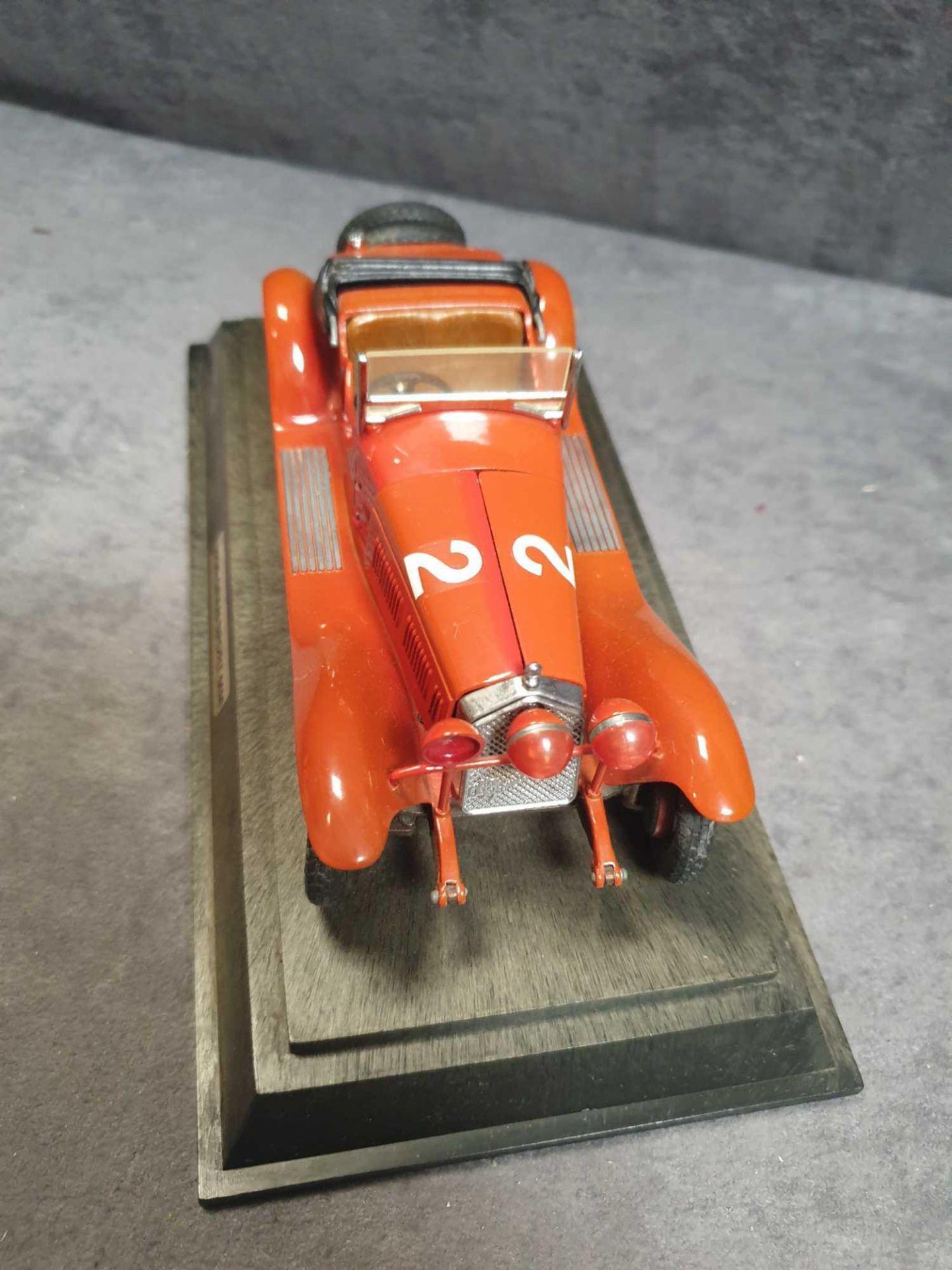 Lotto 1273 - Togi Ialpha Romeo 1750cc Zagato Millie On Wood Plinth In The Mid-1920s, Alfa's RL Was Considered Too