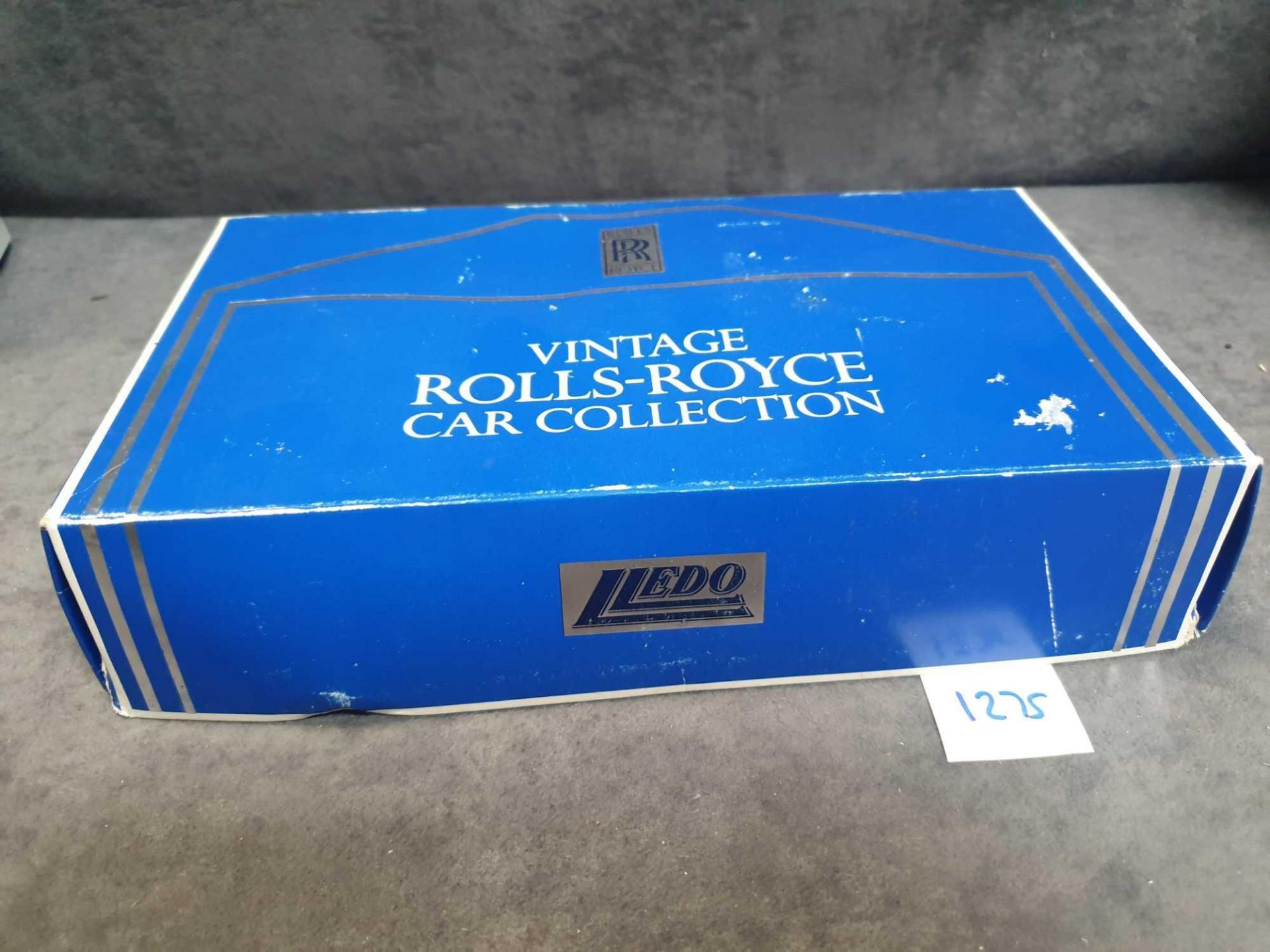 Lledo Vintage Rolls Royce Collection 3 Cars On Wooden Display Plinth Mint Model - Image 4 of 4