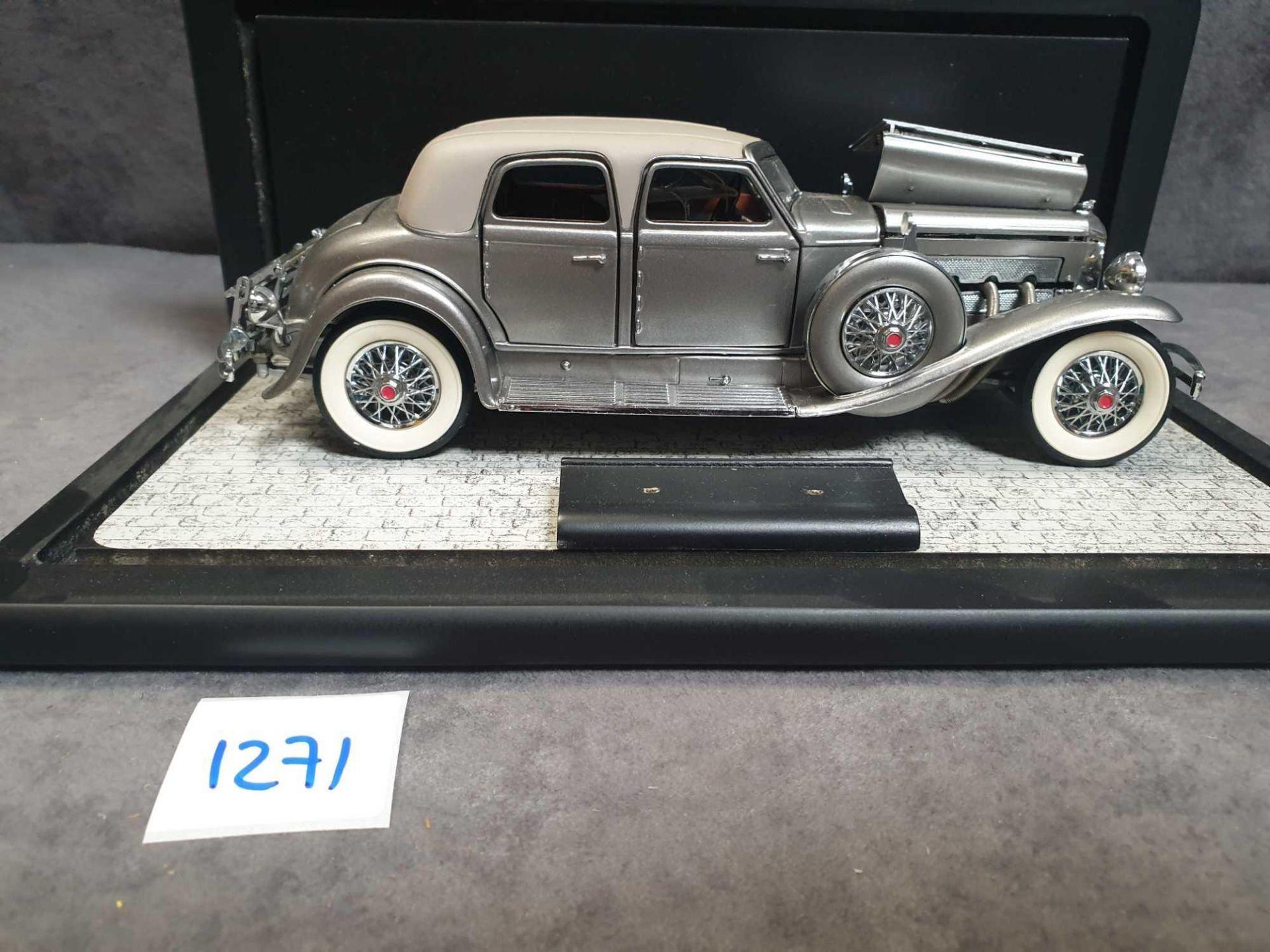 Franklin Mint 1933 Dussenberg SJ Twenty Grand Diecast Model Car Mint Model