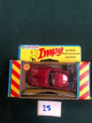 Lone Star Impy Diecast Model #76 GT Rally In Red With Box