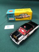 Excellent Corgi Toys Diecast #237 Oldsmobile Shower Car In Excellent Box (Model Has Inbox Rub And