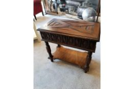 Century Furniture Jacobean Side Table A Stunning Reproduction Jacobean Side Table Features A