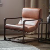 Boda Lounger Brown Vintage Leather The beautiful Boda Lounger chair is the latest addition to our