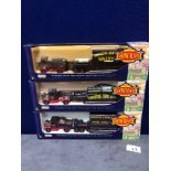 3 X Days Gone By Diecast The Showman's Collection Limited Edition Fairground Vehicles In Boxes