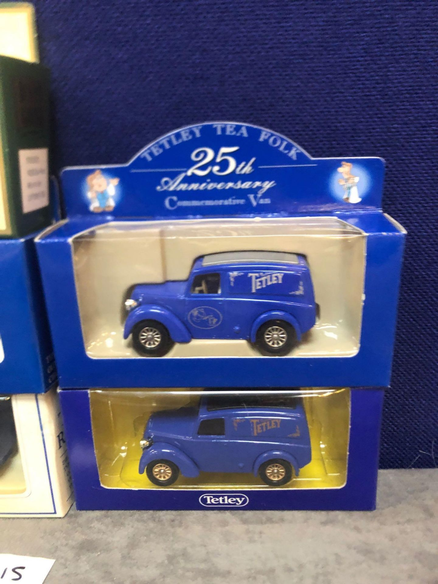 7x Diecast Vehicles Advertising Tea, All In Individual Boxes - Image 2 of 4